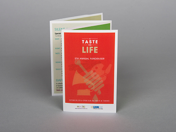 National Eating Disorder Information Centre A Taste For Life 5th Annual Fundraiser Brochure